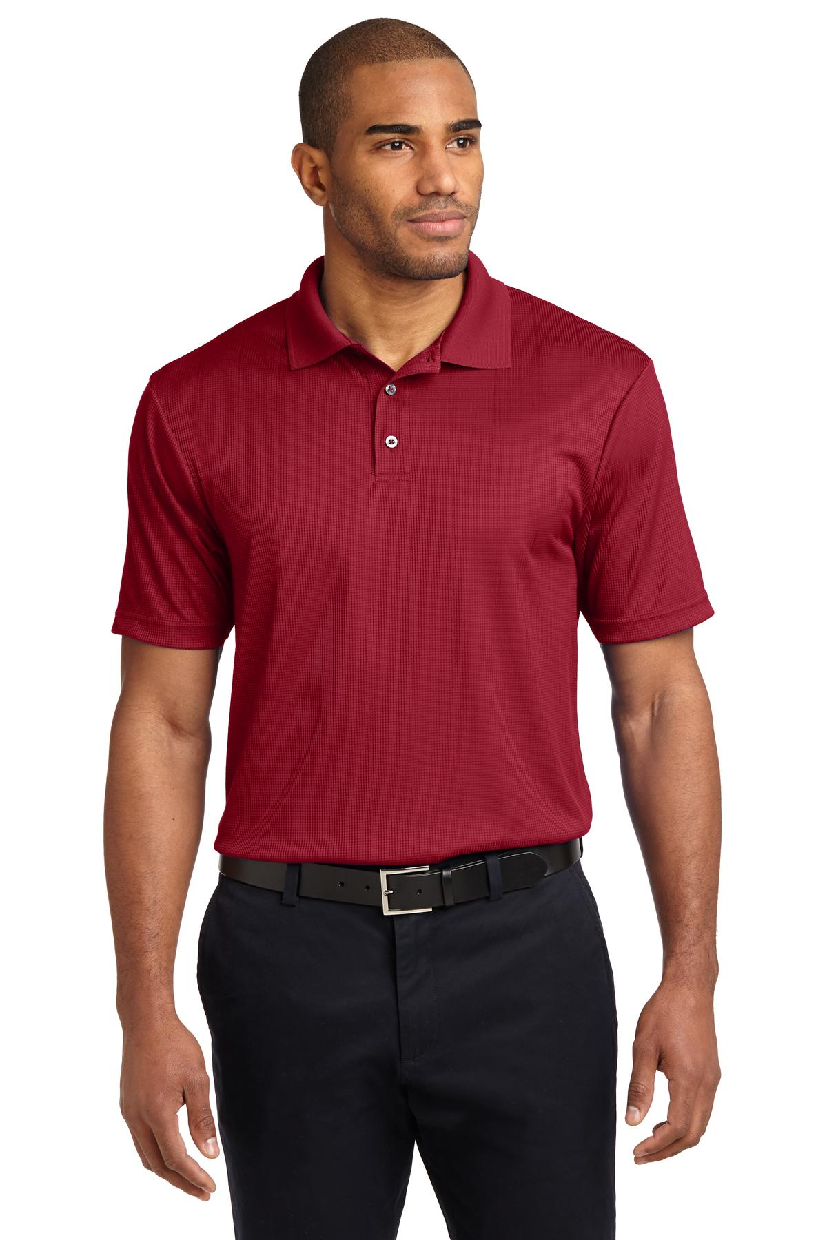 Royal Port Authority Silk Touch Performance Polo.