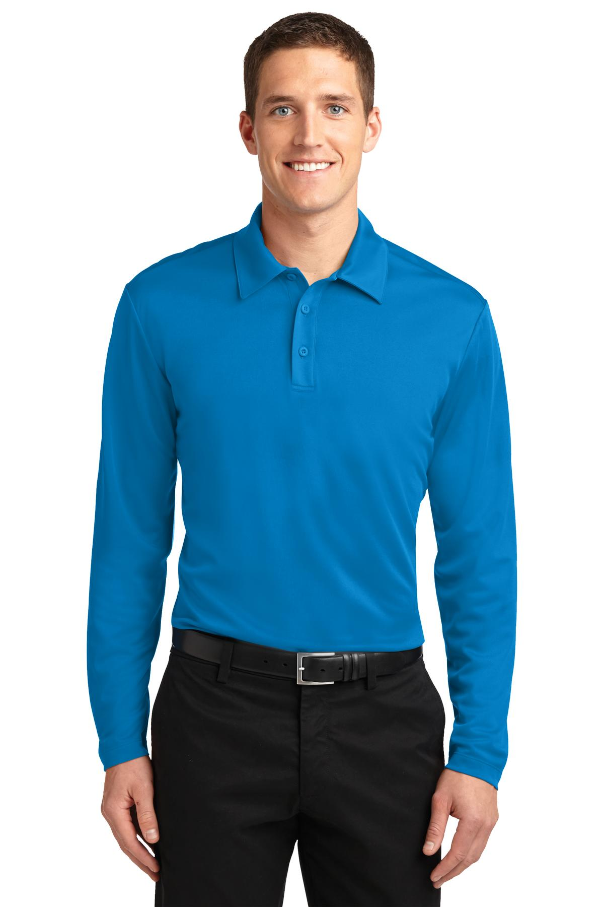 Royal Heather Port Authority ® Heathered Silk Touch Performance Polo.