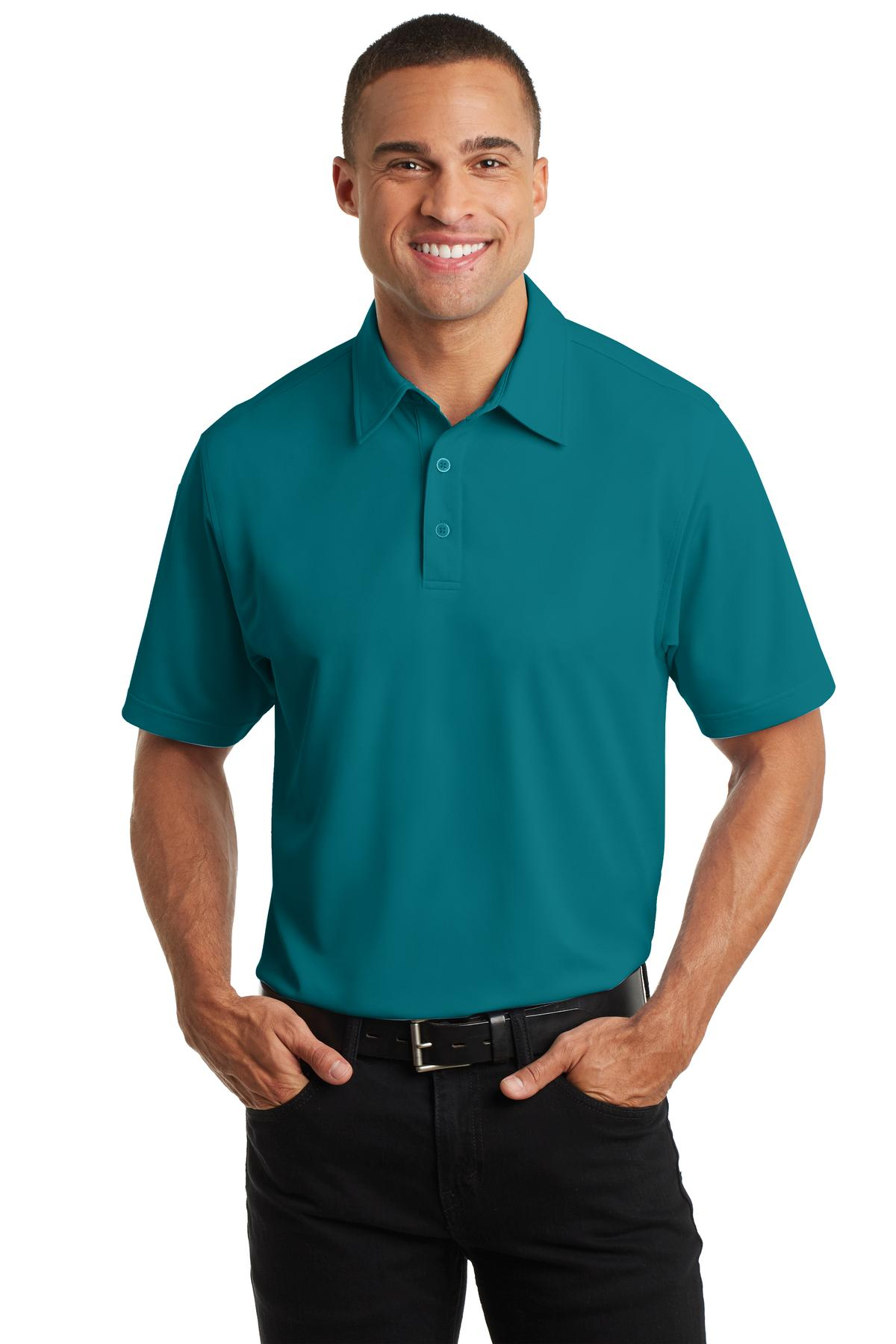Navy Port Authority EZCotton® Polo.