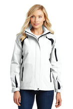 Grey Steel Port Authority Ladies Zephyr Full-Zip Jacket.