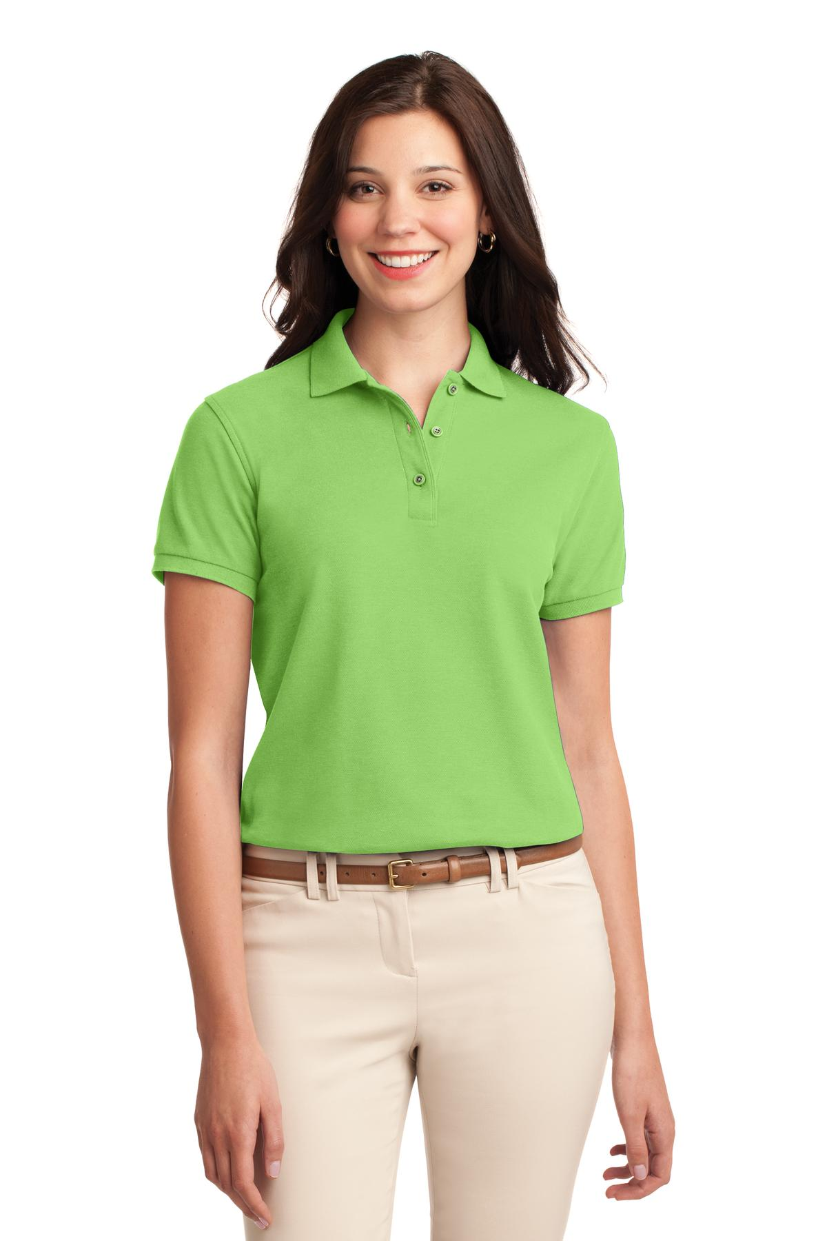 Port Authority Ladies Silk Touch Polo Shirt