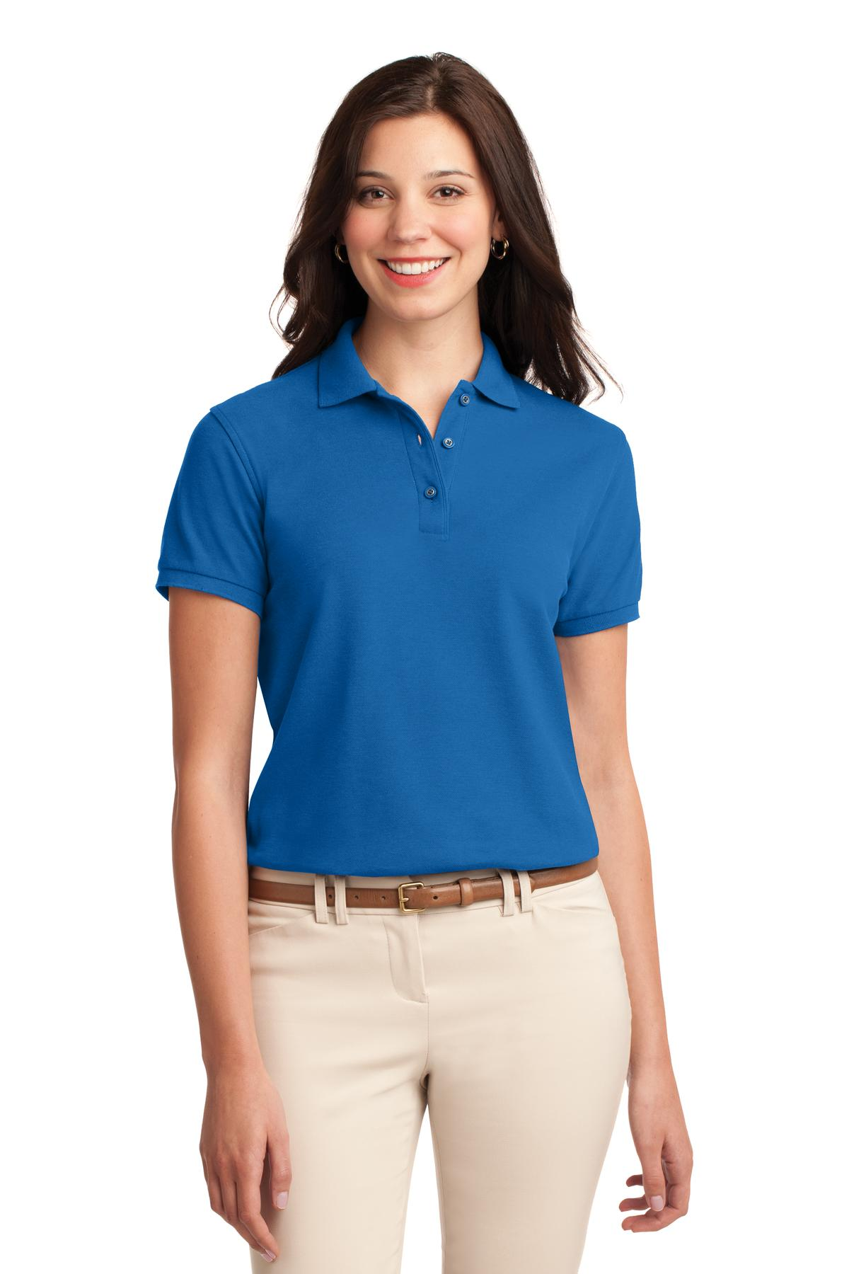 Hibiscus Port Authority Ladies Short Sleeve Easy Care Shirt.