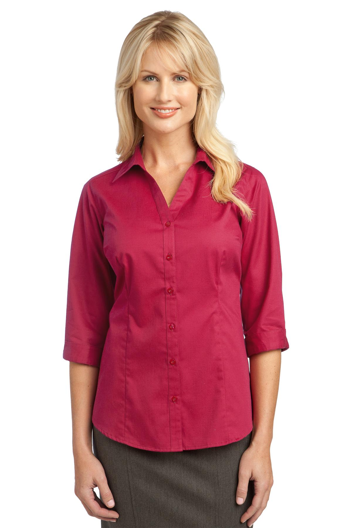 Sunburst Yellow Port Authority Ladies Dry Zone® UV Micro-Mesh Polo.