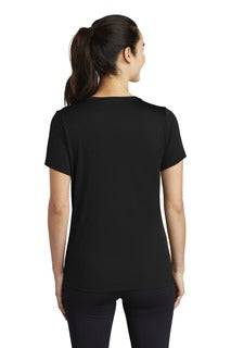 Sport-Tek ® Ladies Posi-UV Pro Scoop Neck Tee.