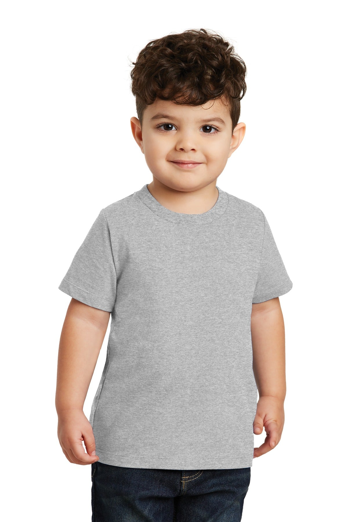 Athletic Heather Port & Company Toddler Fan Favorite T-Shirt