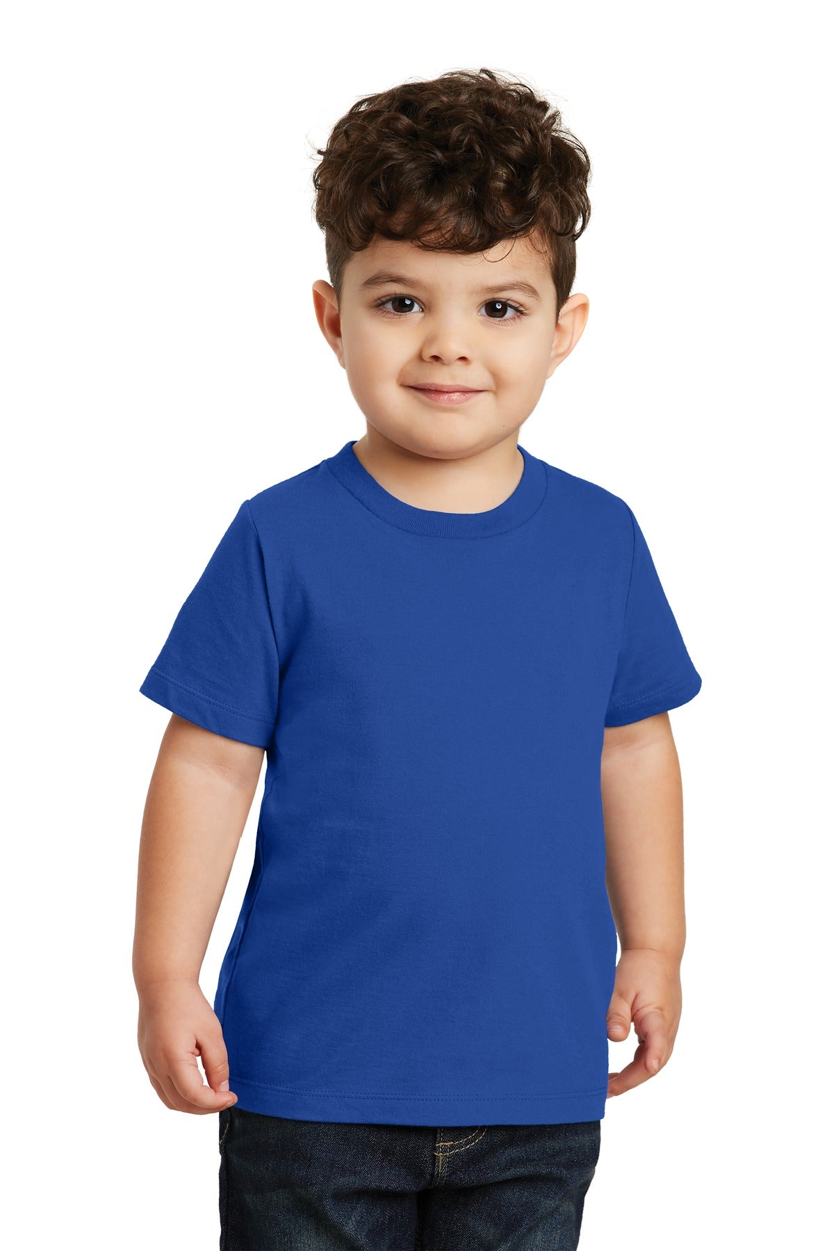 True Royal Port & Company Toddler Fan Favorite T-Shirt
