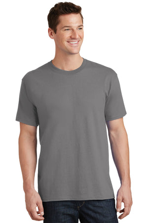 Medium Grey Port & Company - Core Cotton T-Shirt