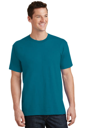 Teal Port & Company - Core Cotton T-Shirt