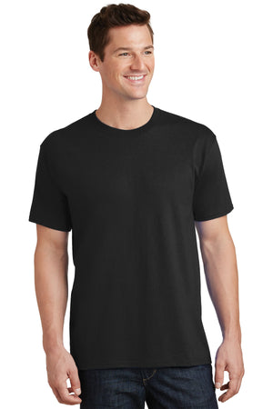 Jet Black Port & Company Tall Core Cotton Tee