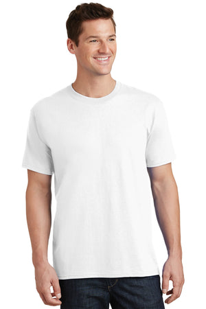White Port & Company Tall Core Cotton Tee
