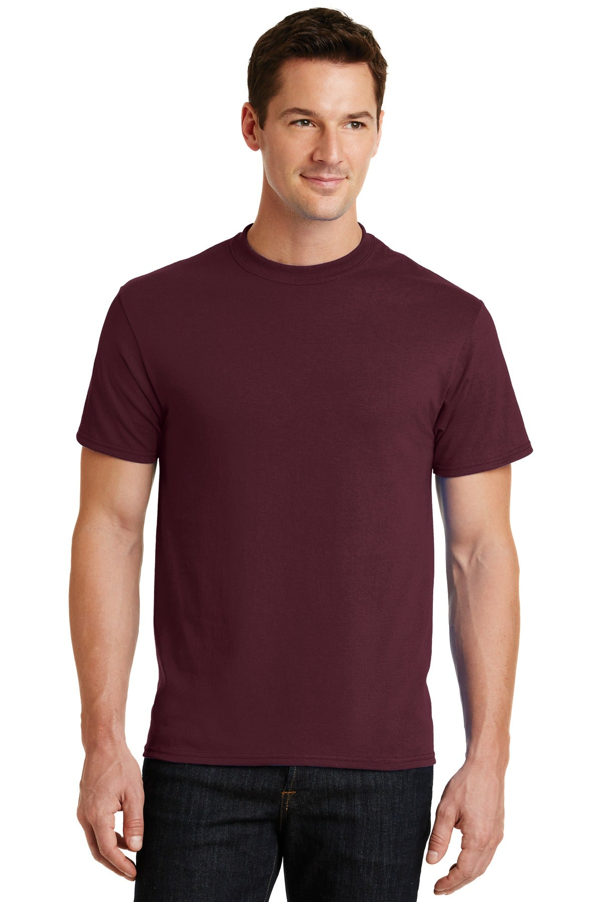 Athletic Maroon Port & Company - Core Blend T-Shirt