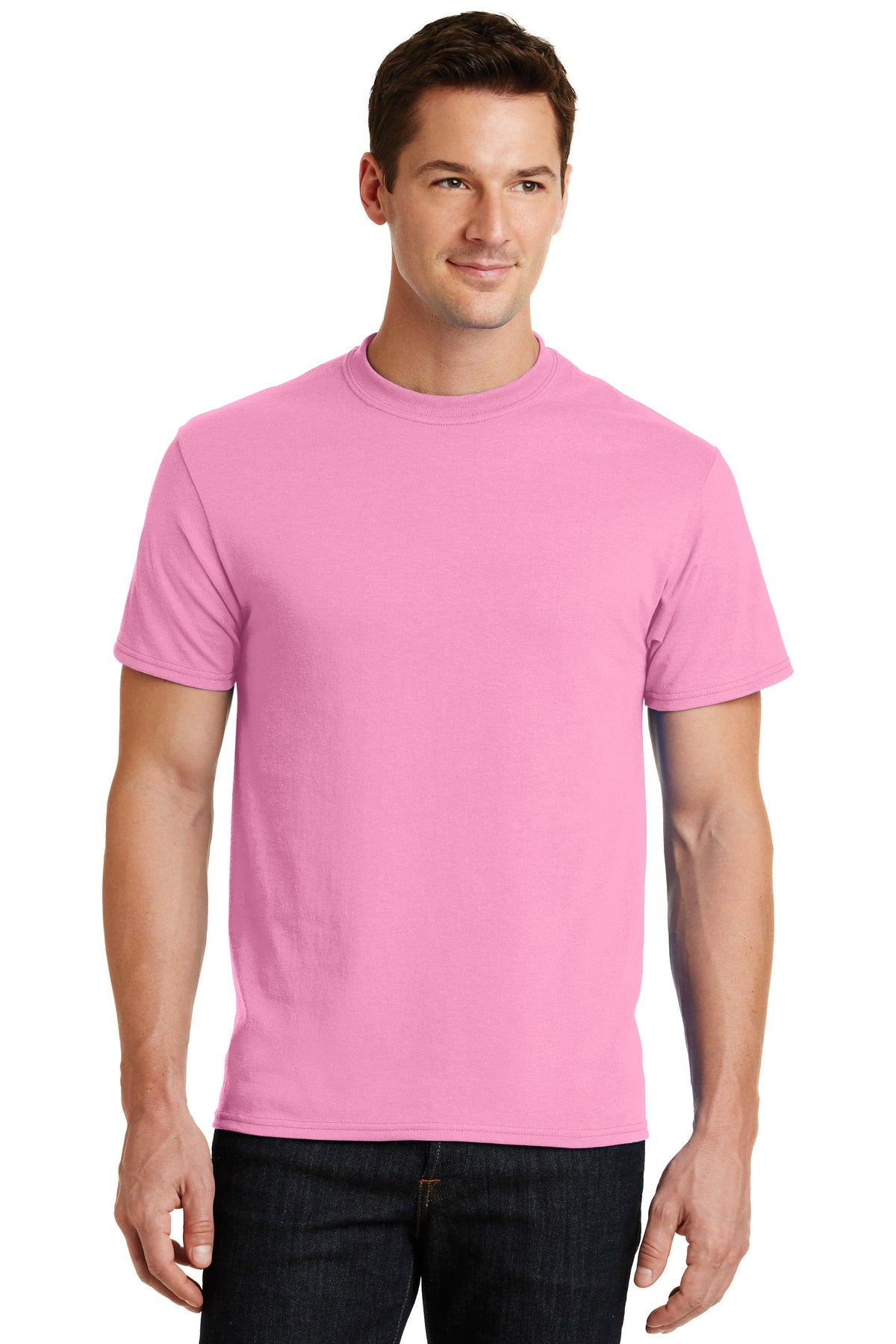 Candy Pink Port & Company - Core Blend T-Shirt