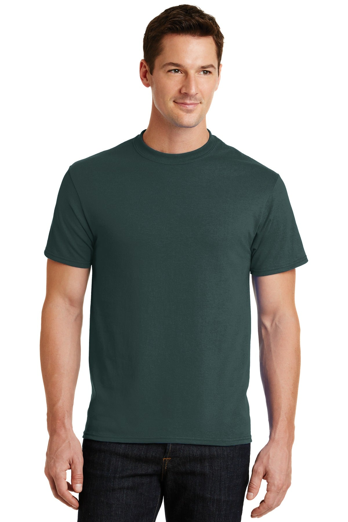 Dark Green Port & Company - Core Blend T-Shirt