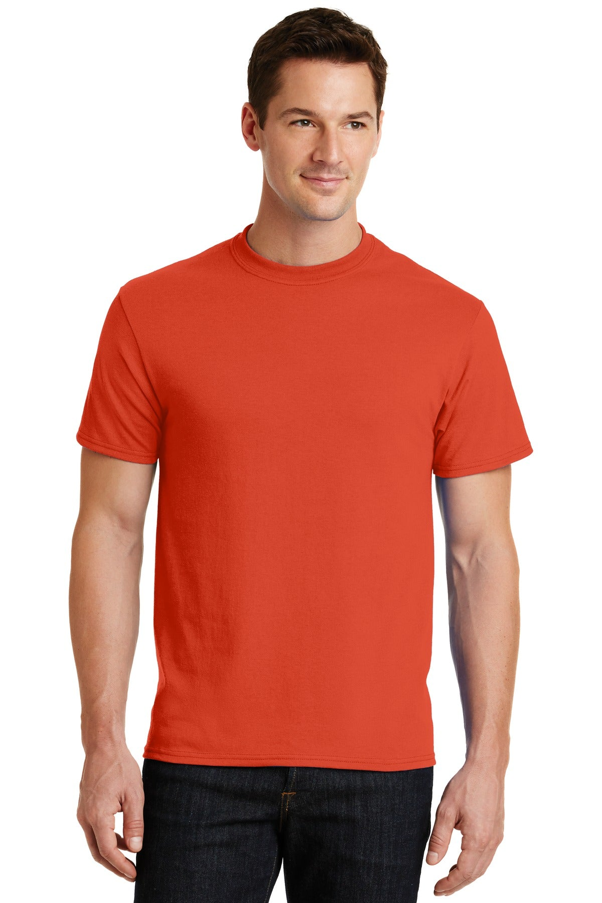 Orange Port & Company - Core Blend T-Shirt