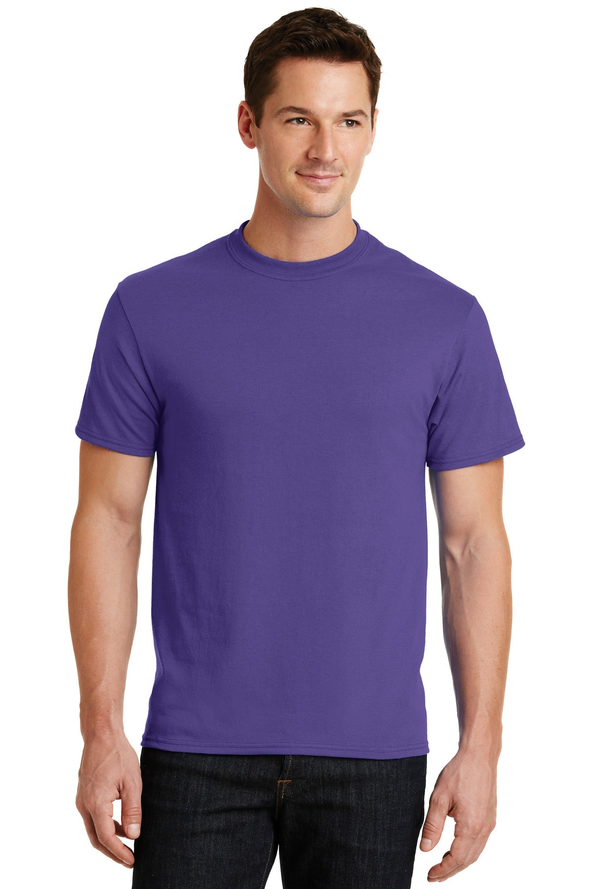 Purple Port & Company - Core Blend T-Shirt