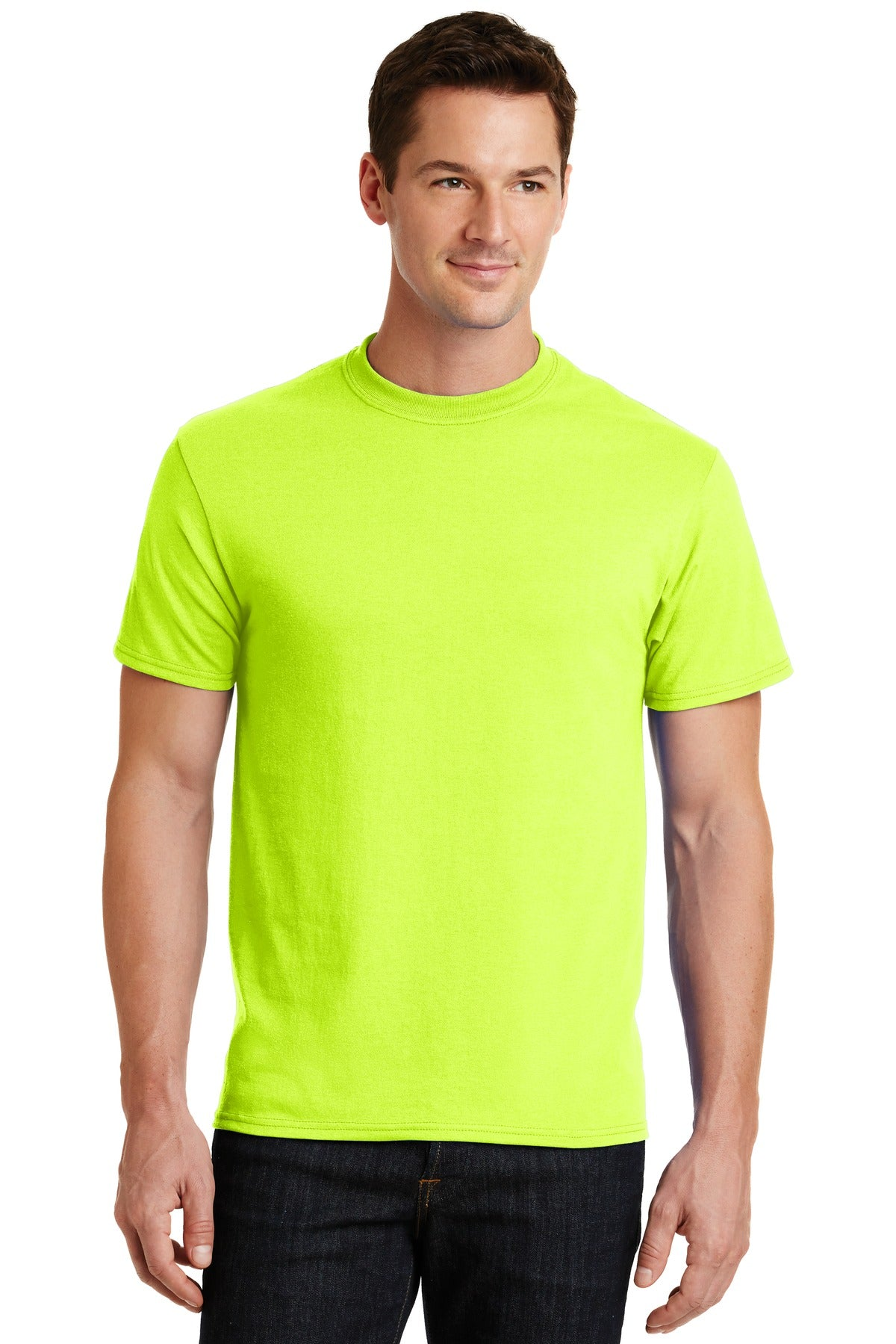 Safety Green Port & Company - Core Blend T-Shirt