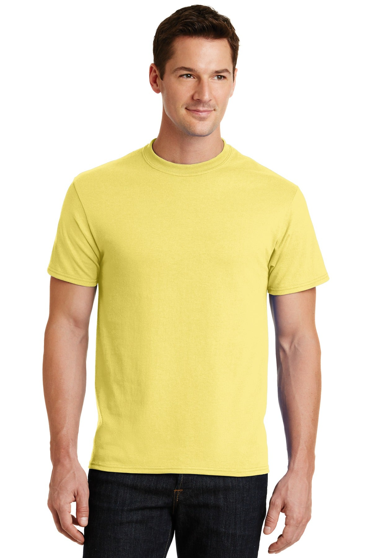 Yellow Port & Company - Core Blend T-Shirt
