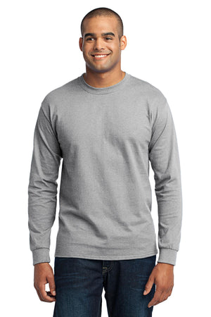 Ash Port & Company Tall Long Sleeve Core Blend T-Shirt