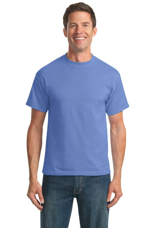 Carolina Blue Port & Company Tall Core Blend T-Shirt