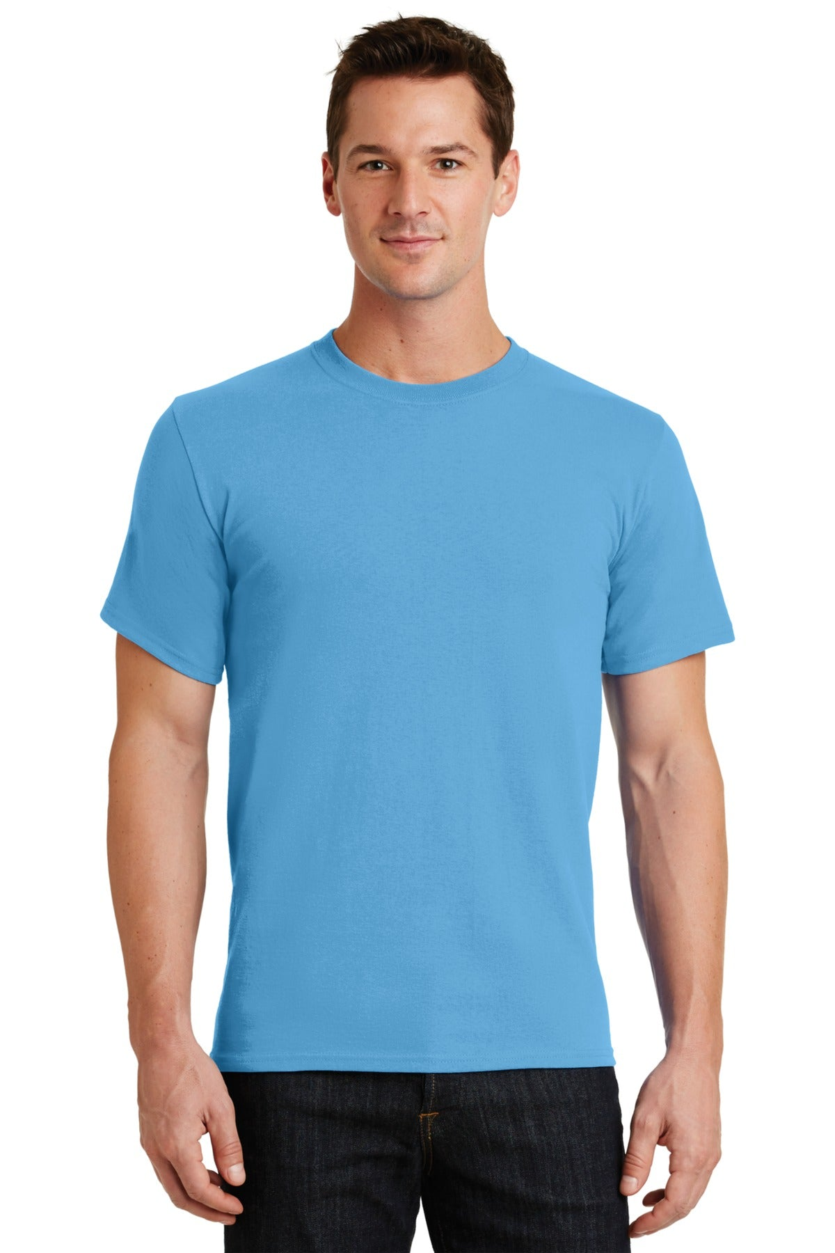 Aquatic Blue Port & Company - Essential T-Shirt