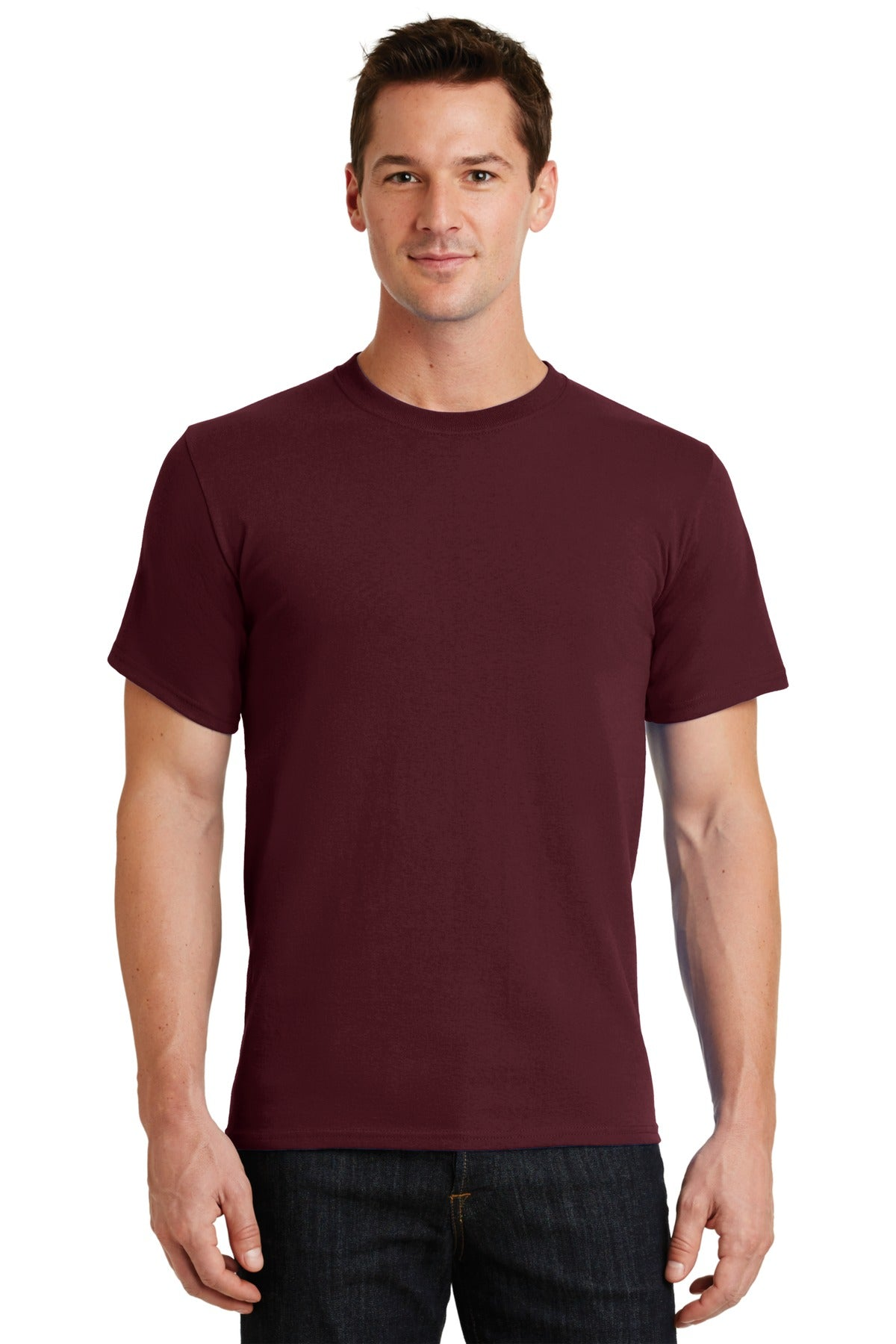 Athletic Maroon Port & Company - Essential T-Shirt