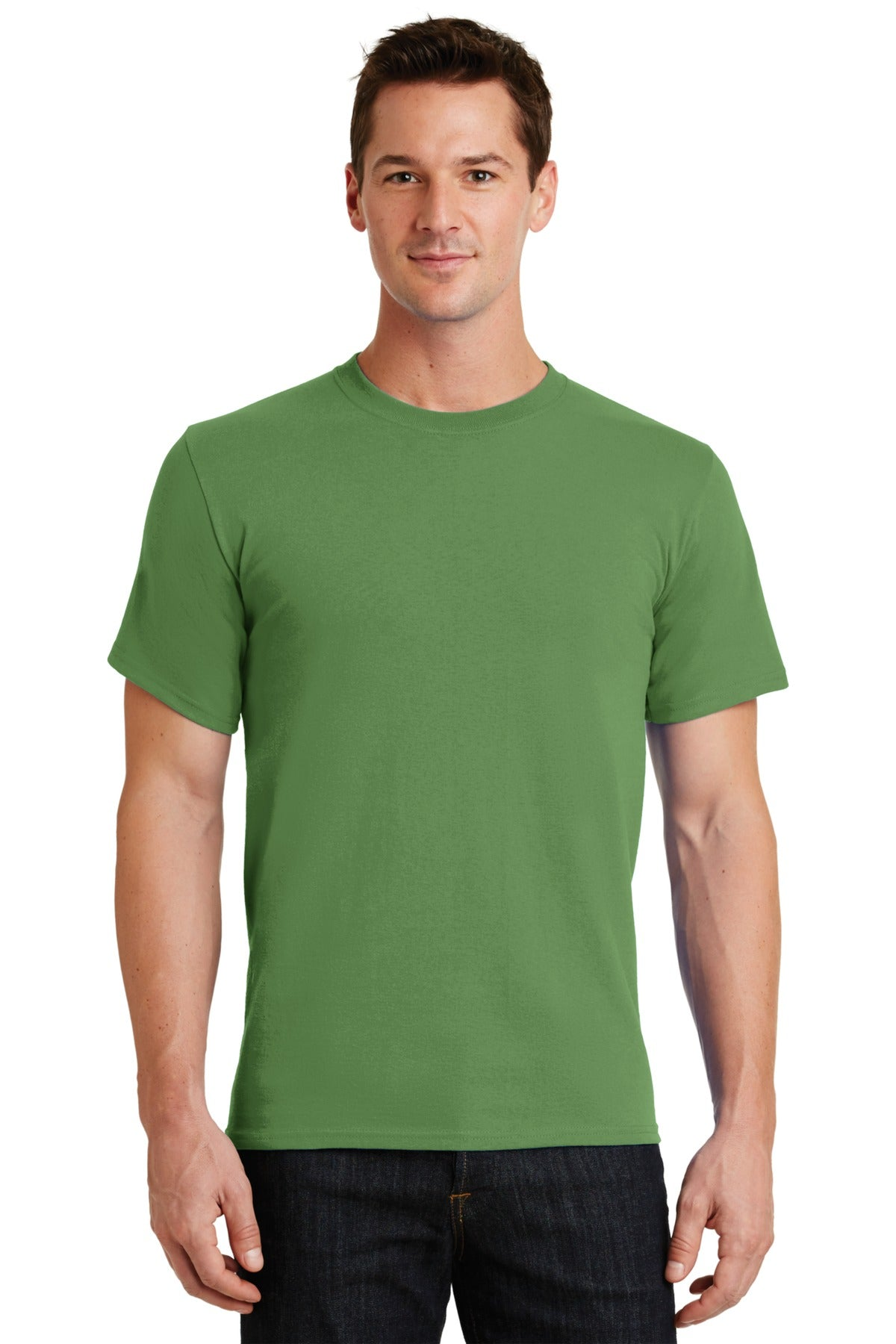 Dill Green Port & Company - Essential T-Shirt
