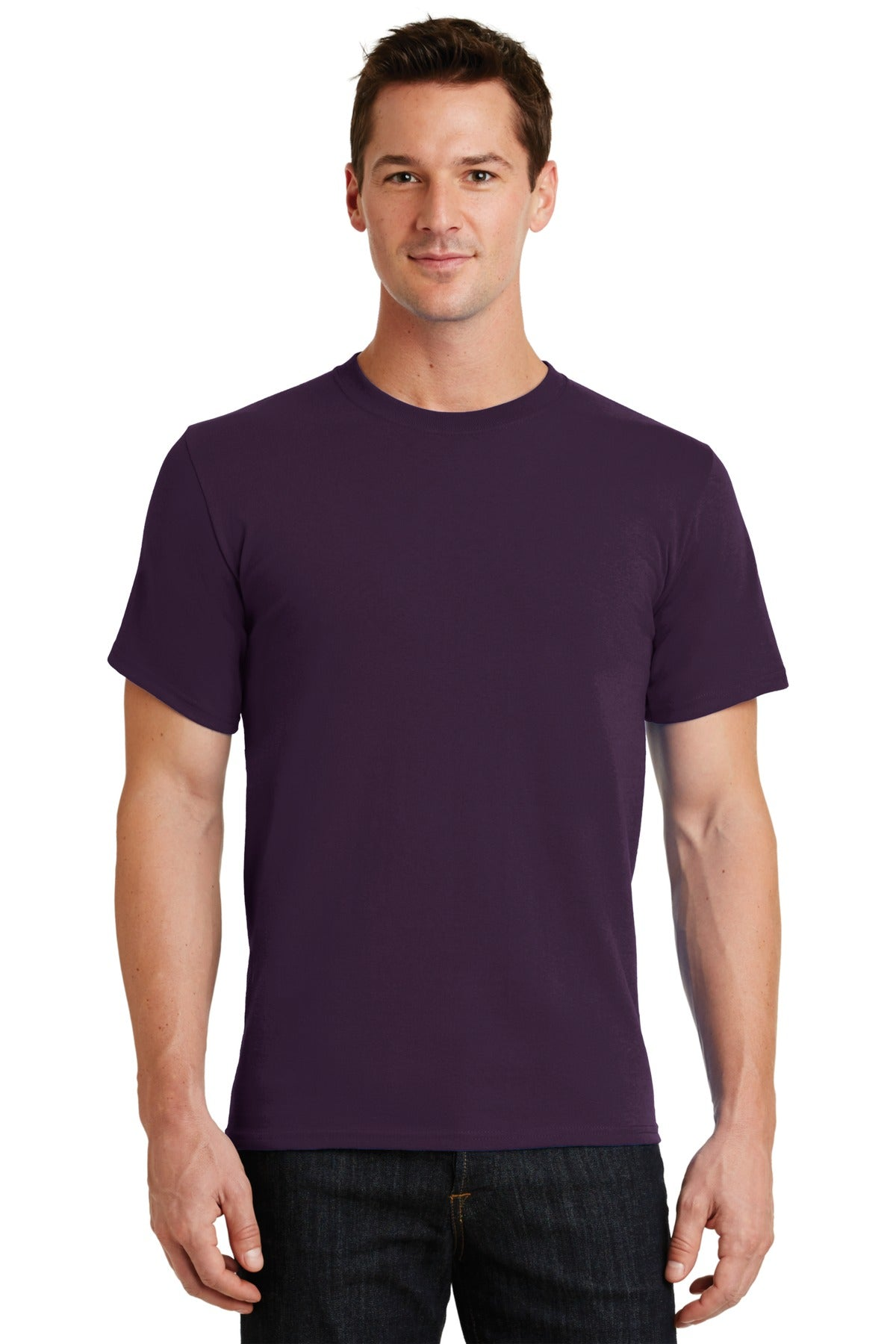 Eggplant Port & Company - Essential T-Shirt