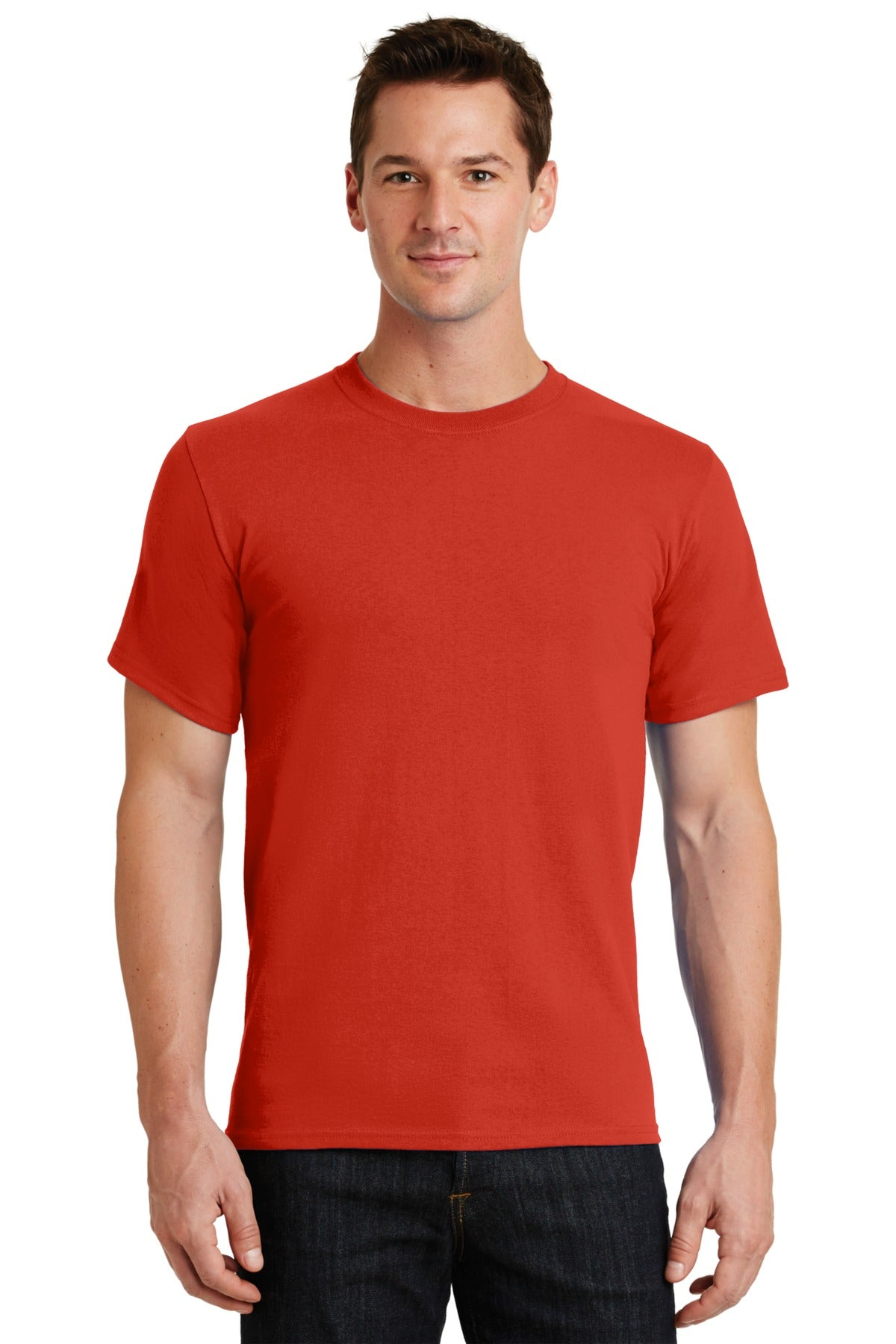 Fiery Red Port & Company - Essential T-Shirt
