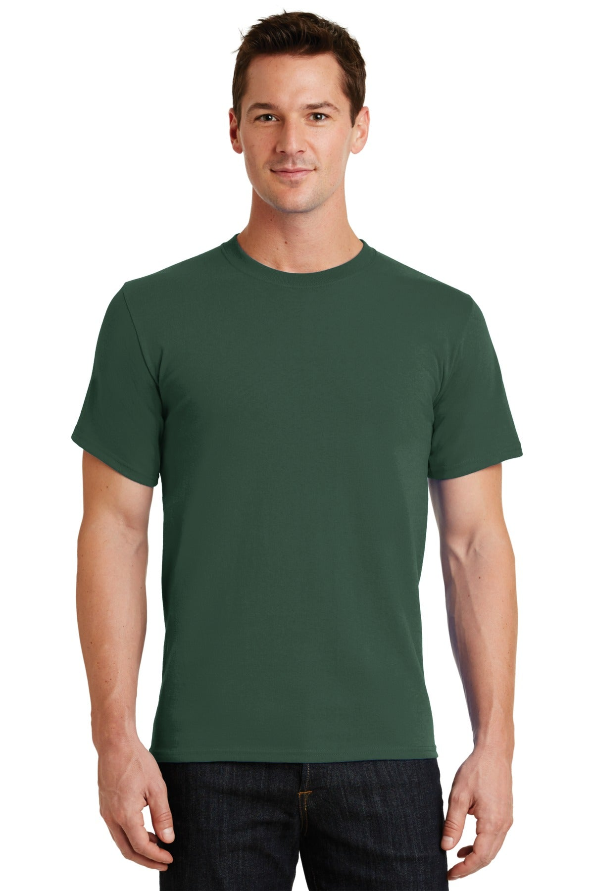 Forest Green Port & Company - Essential T-Shirt