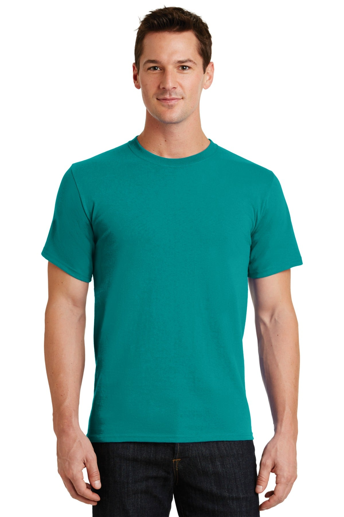 Jade Green Port & Company - Essential T-Shirt