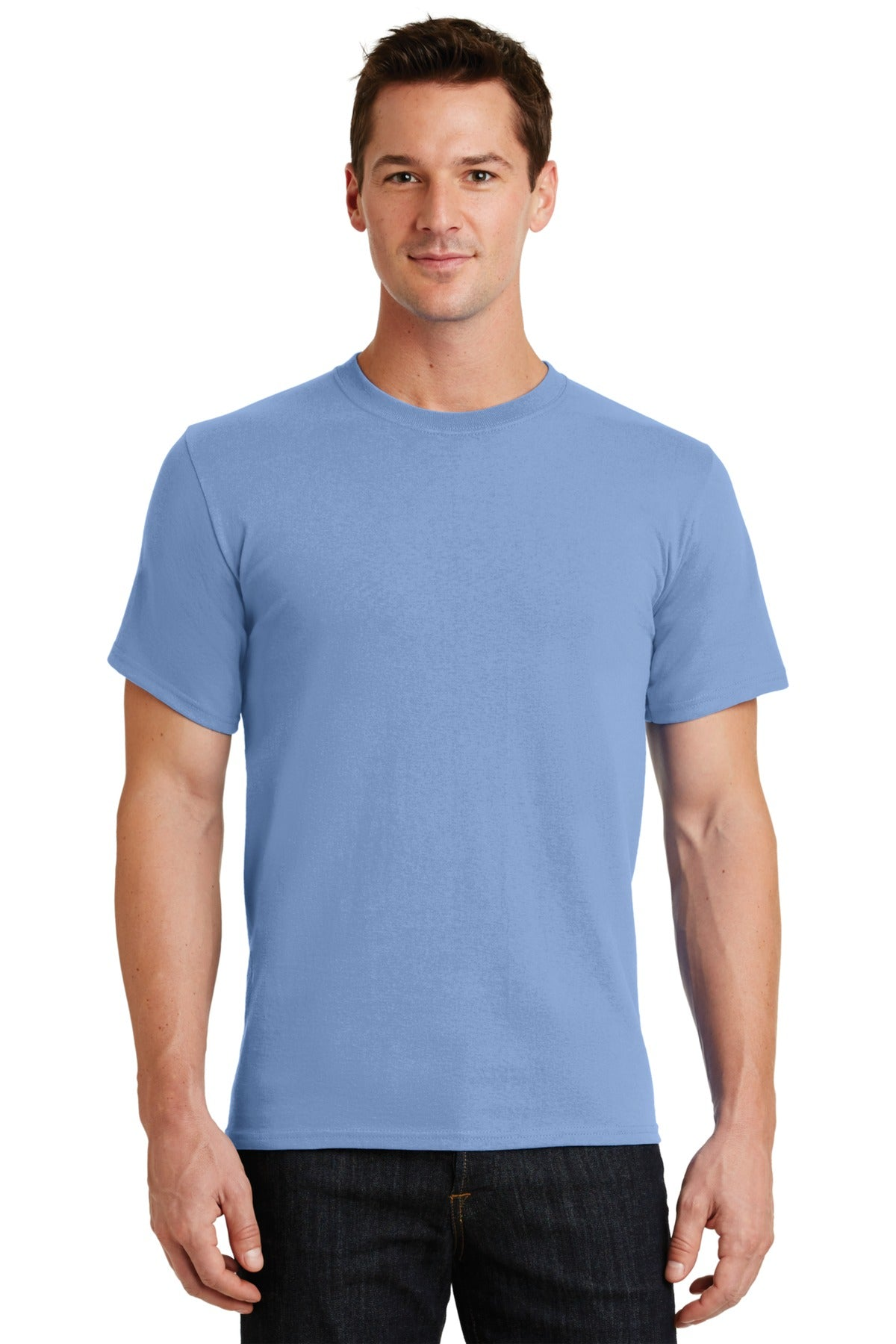 Light Blue Port & Company - Essential T-Shirt