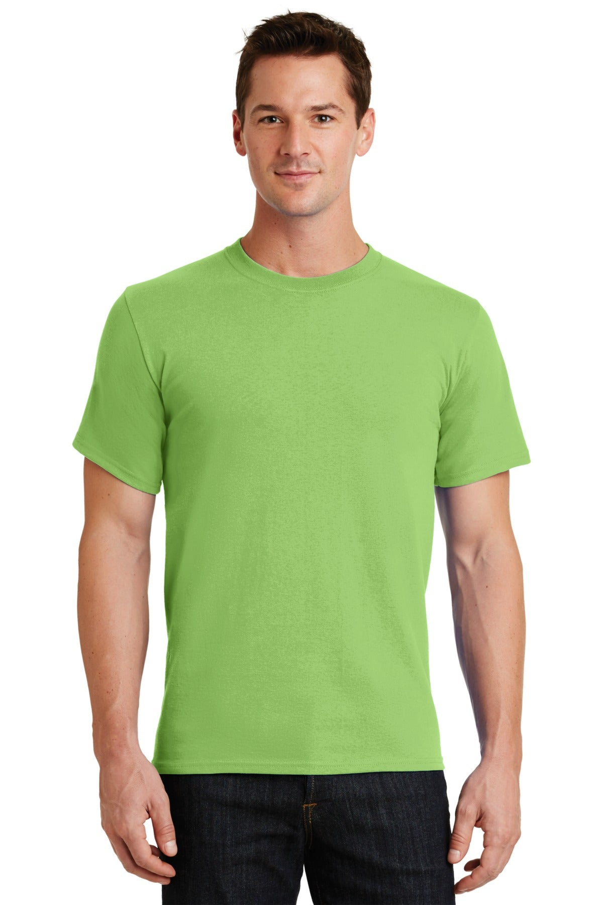 Lime Port & Company - Essential T-Shirt