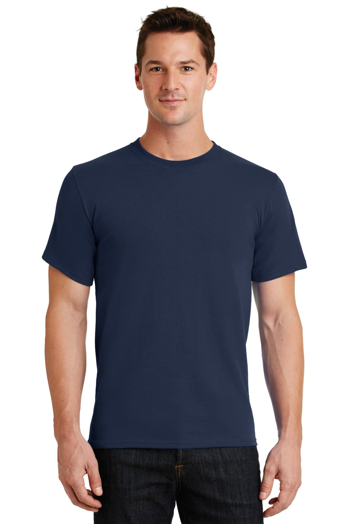 Navy Port & Company - Essential T-Shirt