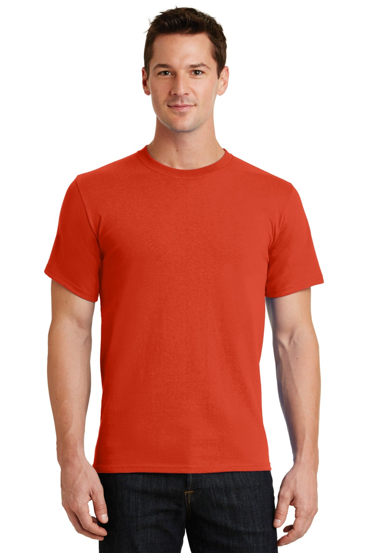 Orange Port & Company - Essential T-Shirt