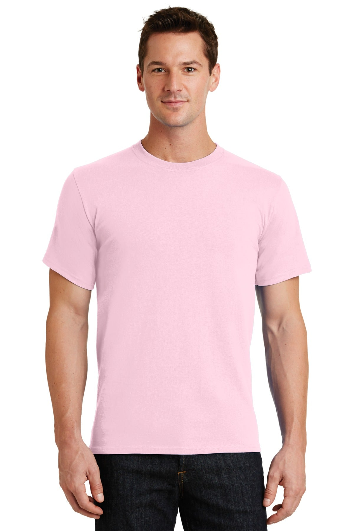 Pale Pink Port & Company - Essential T-Shirt