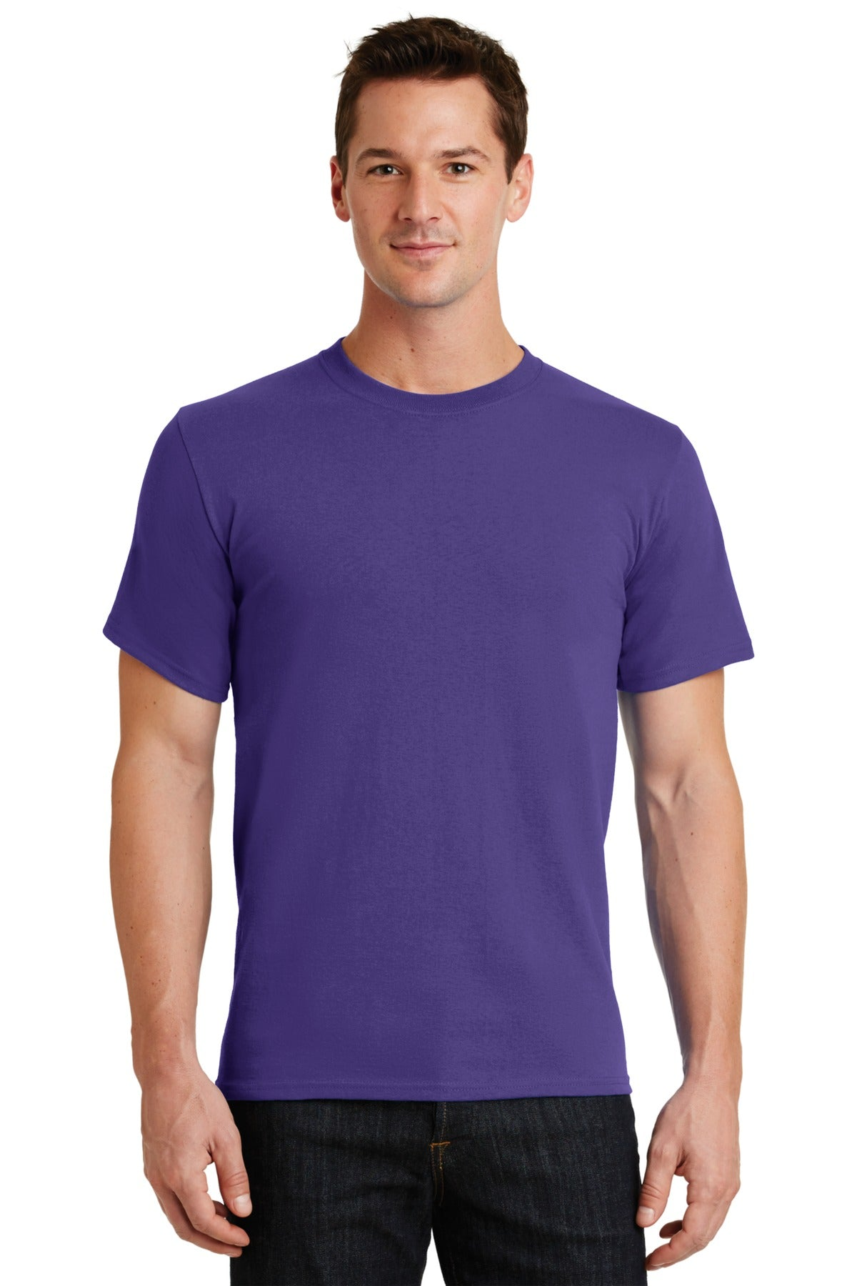 Purple Port & Company - Essential T-Shirt