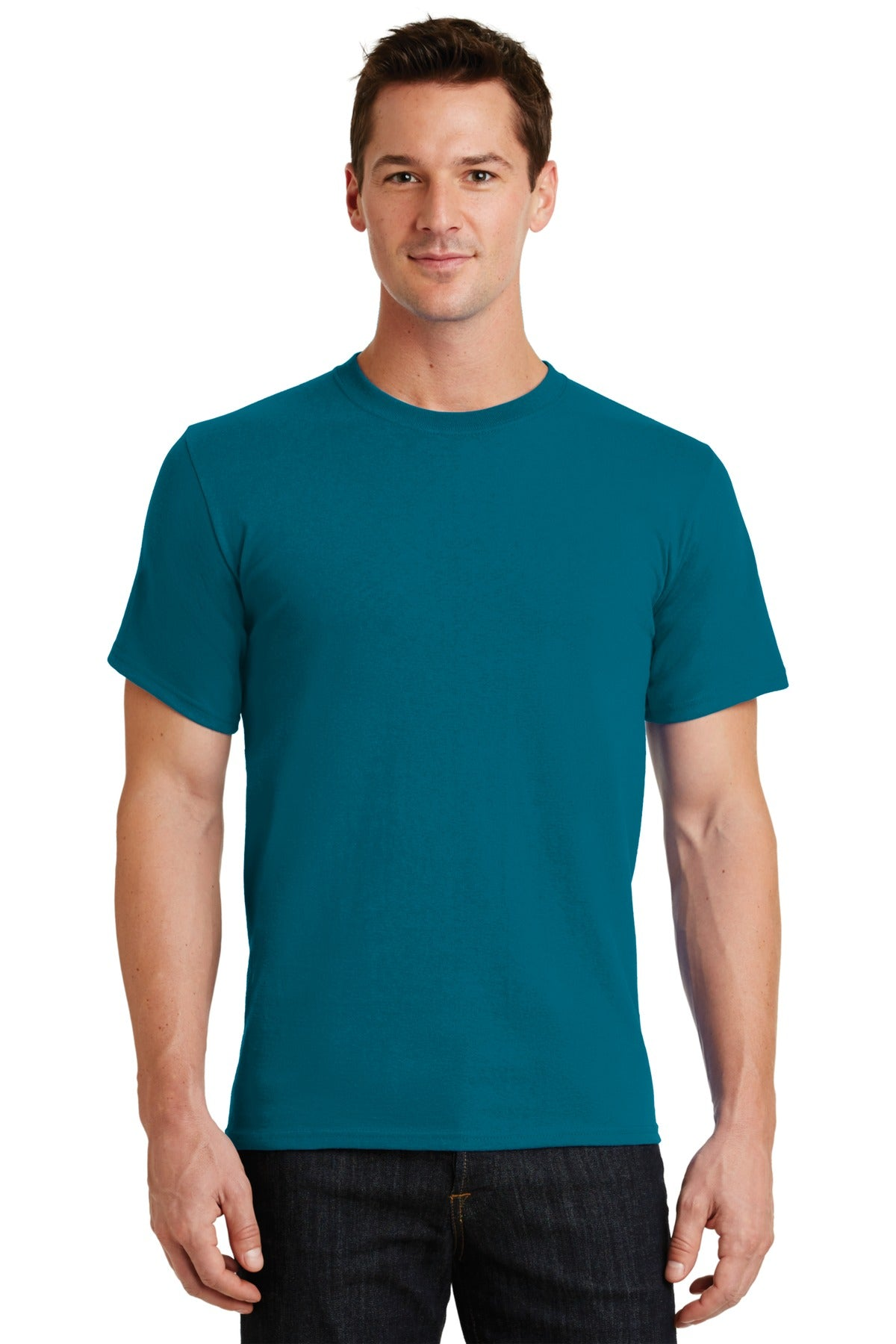 Teal Port & Company - Essential T-Shirt