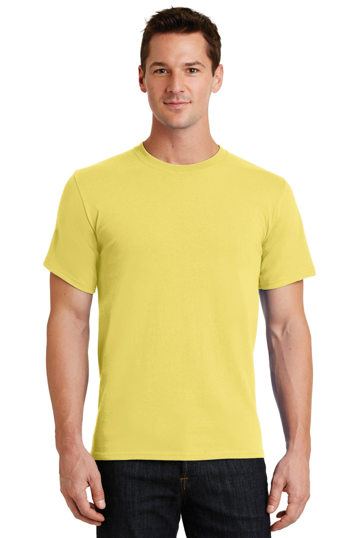 Yellow Port & Company - Essential T-Shirt