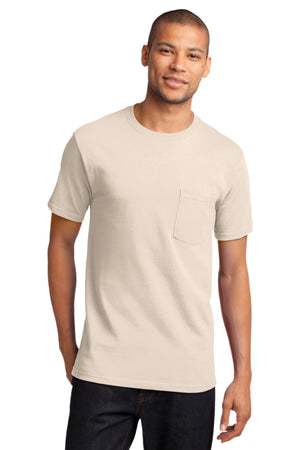 Natural Port & Company - Tall Essential Pocket T-Shirt