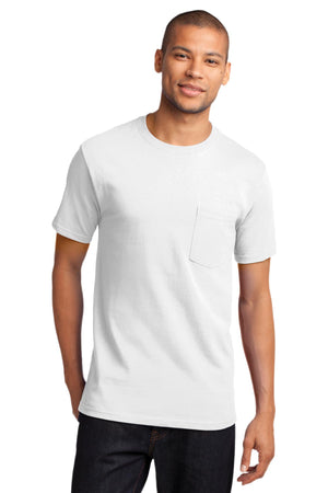 White Port & Company - Tall Essential Pocket T-Shirt