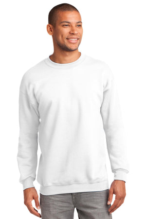White Port & Company - Essential Fleece Crewneck Sweatshirt.