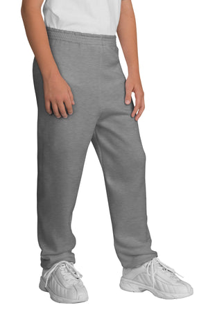 Athletic Heather Port & Company - Youth Core Fleece Sweatpant.