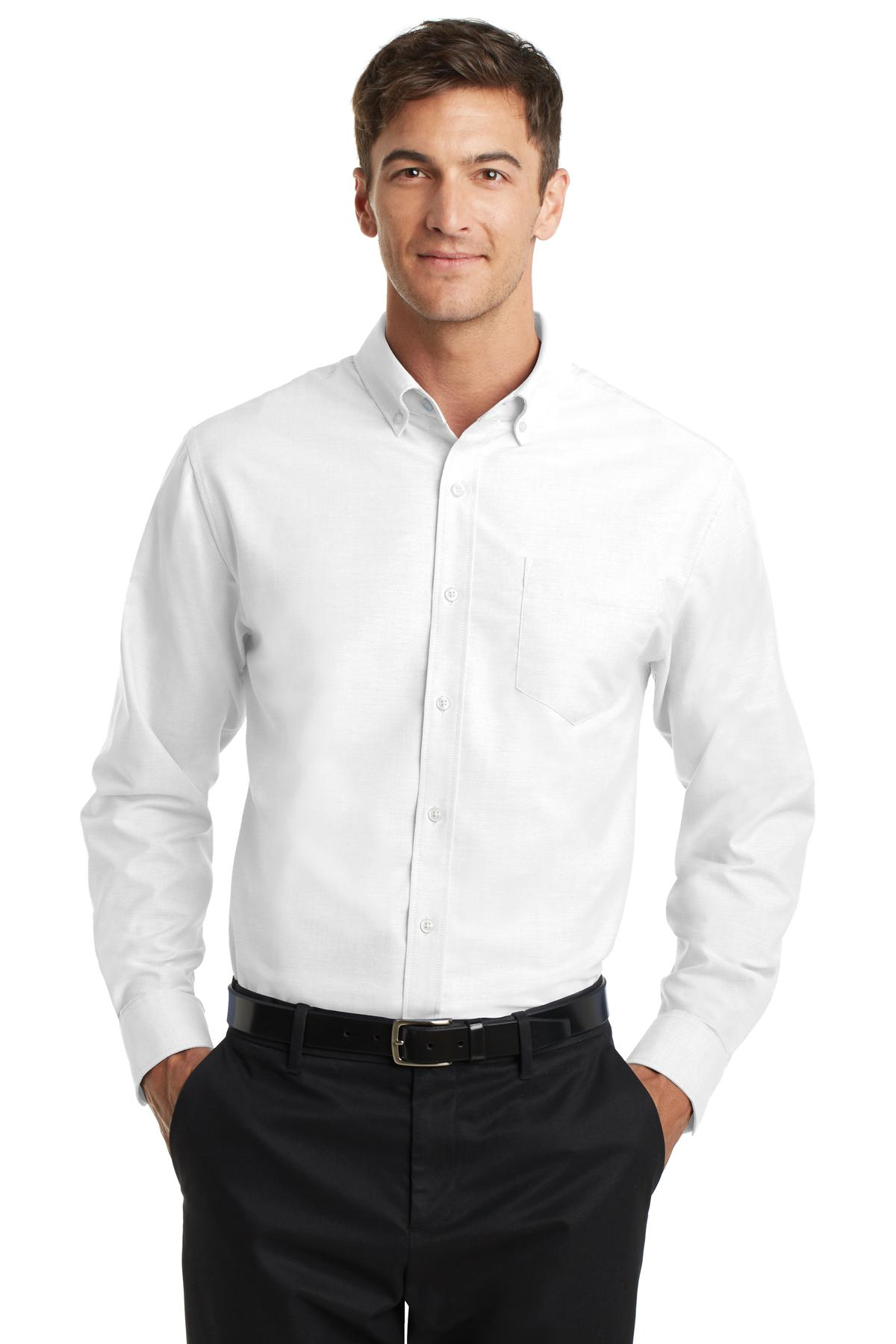 Royal Port Authority Tall Silk Touch Long Sleeve Polo.