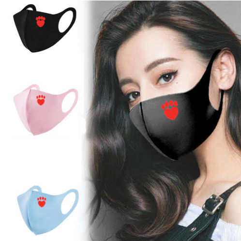 Fashion Silk Face Masks