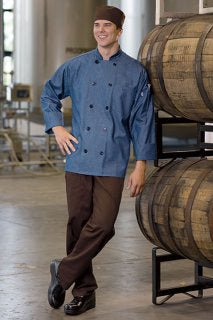 Aspen Chambray Chef Coat