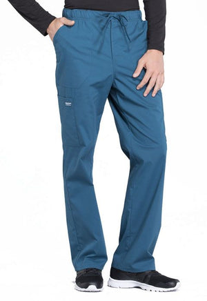 Mens Tapered Leg Drawstring Cargo Pant