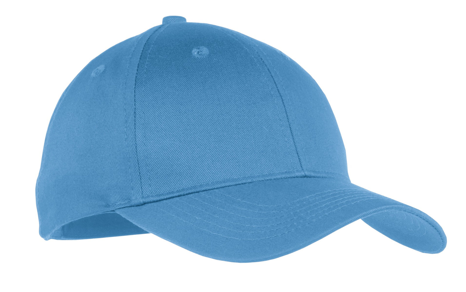 Carolina Blue Port & Company Youth Six-Panel Twill Cap