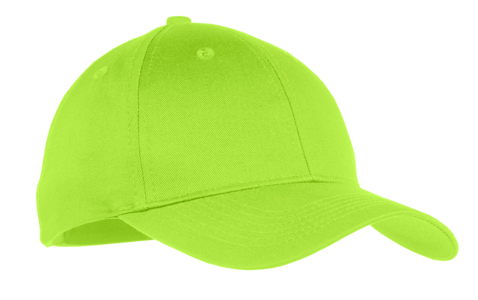 Lime Port & Company Youth Six-Panel Twill Cap