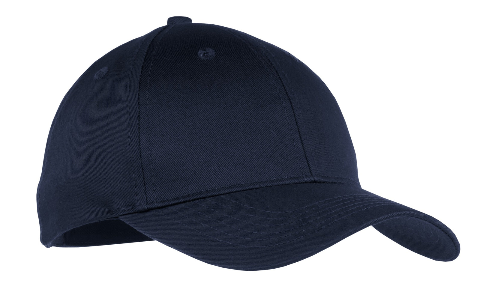 Navy Port & Company Youth Six-Panel Twill Cap
