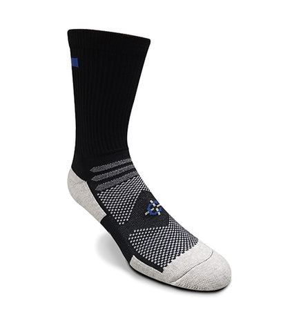 Blue Line Crew Sock First Responder Socks-Covert Threads- Military Socks For Every Clime & Place